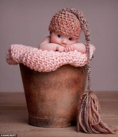 Fotos artísticas de bebés recién nacidos