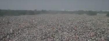 La marea roja de Calcuta: impresionantes imágenes de la manifestación socialista y comunista contra Modi