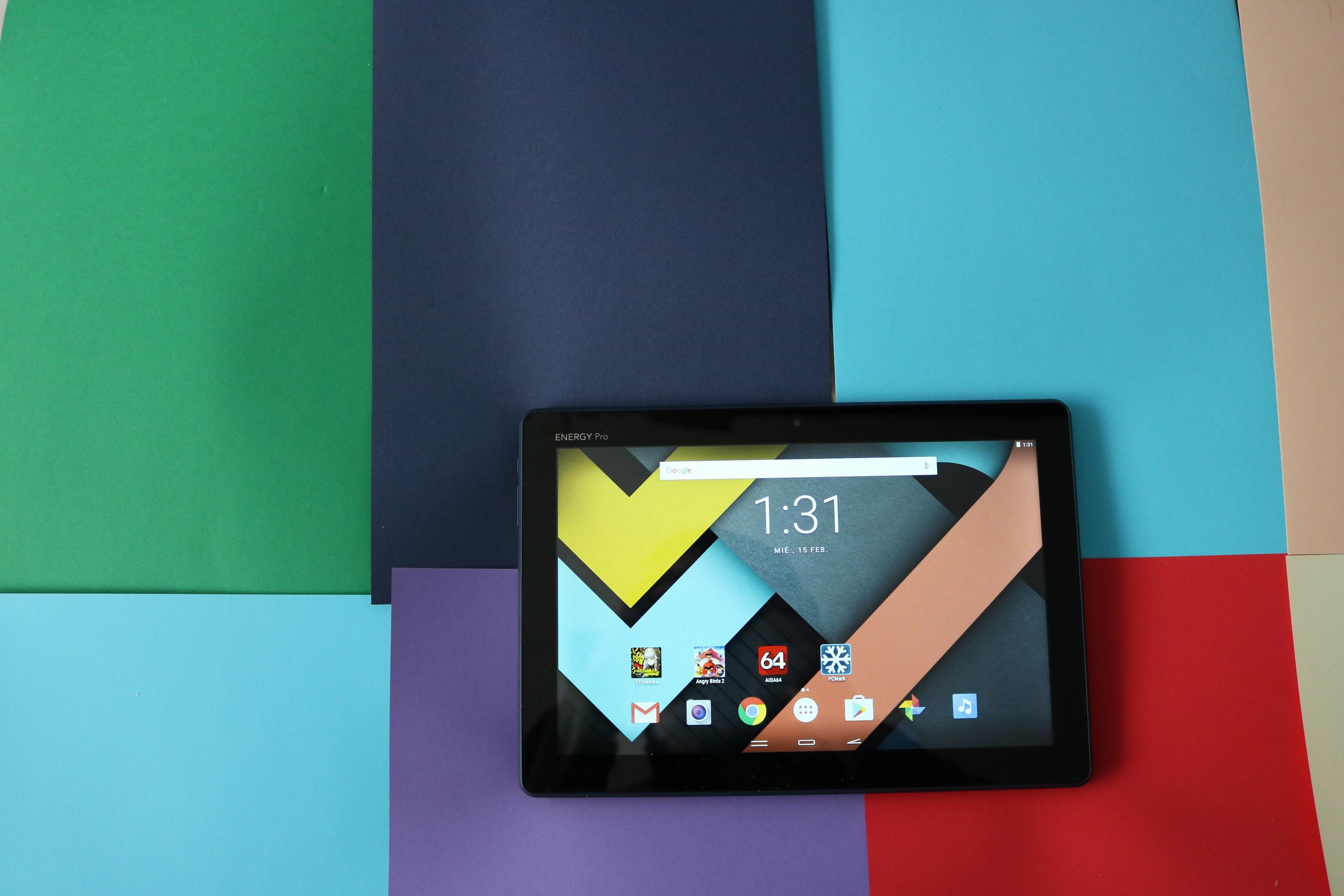 Diseño Energy Tablet Pro 3