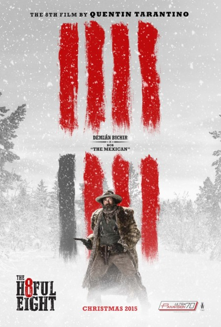 Póster de Demián Bichir en The Hateful Eight