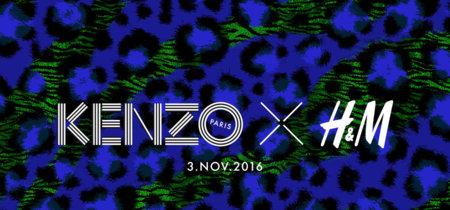 ¡La noticia que nos alegra el día! ¡Kenzo x H&M el 3 de noviembre!