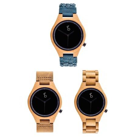 Bamboo Life nos presenta cuatro relojes hechos de madera como accesorio cool del verano