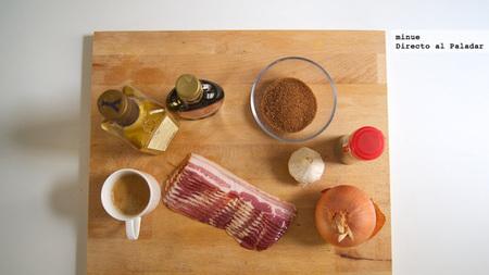 Mermelada de bacon - ingredientes