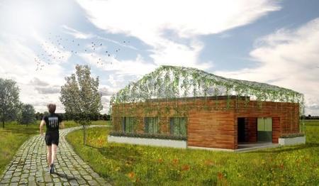 'Casa Camuflaje', una vivienda sostenible, modular y de madera