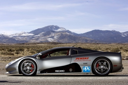 "Galería del SSC Ultimate Aero ""world récord breaking"""