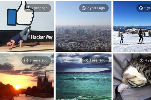 Cómo ver la nueva sección de recuerdos de Facebook en el móvil