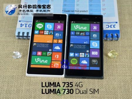 Nokia Lumia 730 y 735, primeras imágenes y especificaciones