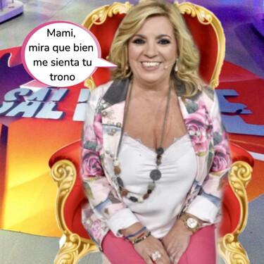 Carmen Borrego vuelve a 'Sálvame': estas han sido sus impactantes exigencias para firmar el acuerdo