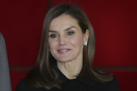 Doña Letizia repite modelito de Carolina Herrera