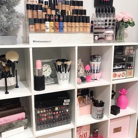 organizar maquillaje en casa