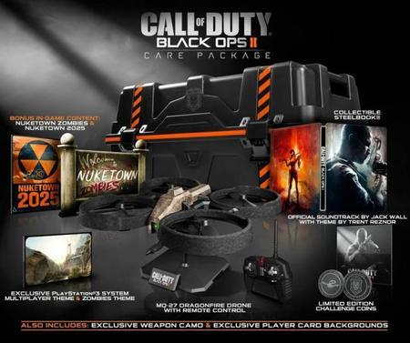 Si queréis ver las ediciones especiales del 'Call of Duty: Black Ops II' en vídeo, allá va un unboxing