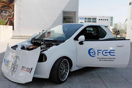 La BUAP ya tiene su propio vehículo que funciona con energía solar