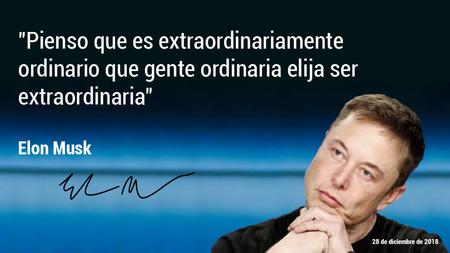 """Gozar a Elon Musk en 17 citas: """"Pienso que es extraordinariamente ordinario que gente ordinaria elija ser extraordinaria"""""""