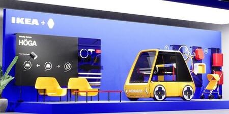 Renault Höga, un futurista coche eléctrico que sueña con montarse en casa como un mueble de Ikea