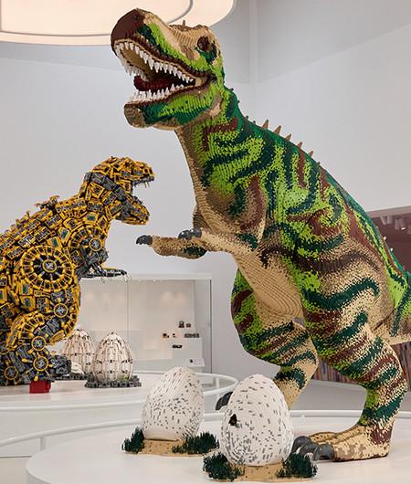 Masterpiecegallery Dino Tecnic Potrait