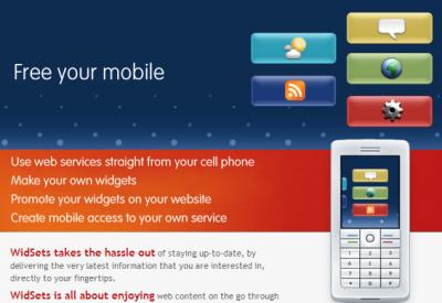 Widsets, widgets para el móvil