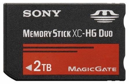 Nuevas tarjetas Memory Stick XC y XC-HG de Sony