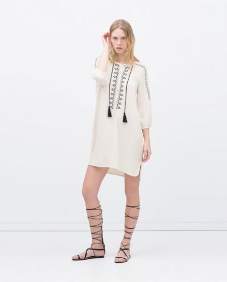 Tunica Rebajas Zara
