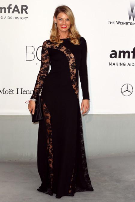 Angela Lindvall amfar Cannes 2014