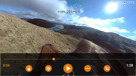 VLC 2.1 beta para Android incluye soporte para vídeos de 360 grados