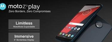 Este podría ser el espectacular catálogo de Motorola en 2018: Moto Z3, Moto X5 y Moto G6