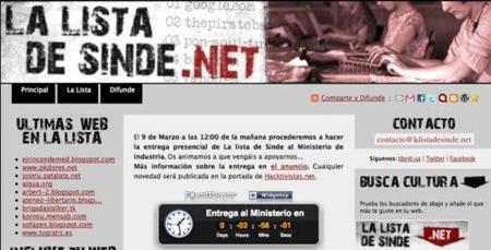 Más de un millar de webs se declaran hoy culpables de ofrecer descargas