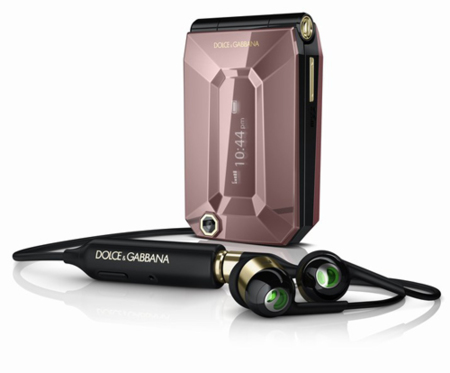 Móvil de Sony Ericsson y Dolce & Gabbana
