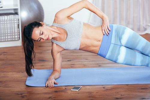 Siete aplicaciones para hacer ejercicio sin salir de casa
