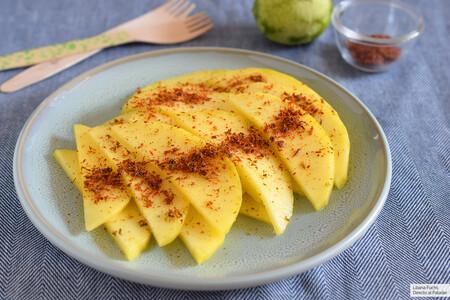 Mango picante con especias tajín: receta rapidísima de un clásico de la comida callejera mexicana