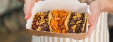 Desembarca en Madrid Tacos Don Manolito: así son los auténticos tacos mexicanos de chicharrón, cecina o longaniza