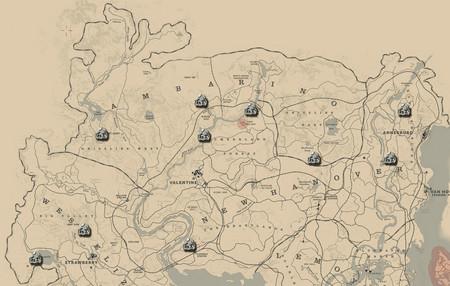 Guía Red Dead Redemption 2: mapa y vídeo para encontrar todas las rocas talladas