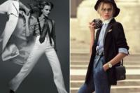 Annie Hall en una fantástica editorial de Vogue Paris