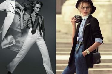 Annie Hall en una fantástica editorial de Vogue Paris