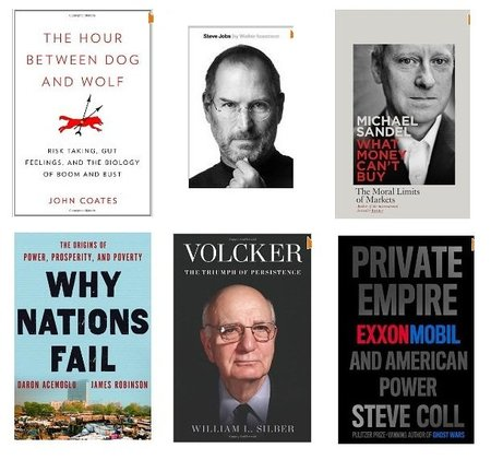Los mejores libros de negocios del 2012