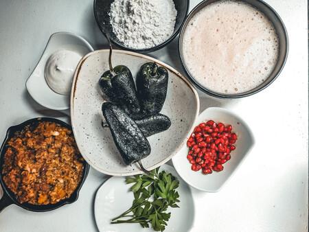 Chiles Carne Guisada Nogada Granada Los Ingredientes De Este Plato Tan Tipico De Mexico C Jose Maria Yunquera