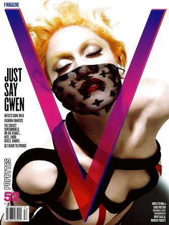 Gwen Stefani portada de la revista V (segunda entrega)