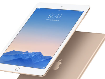 Apple iPad Air 2 WiFi de 32GB por 399 euros y envío gratis