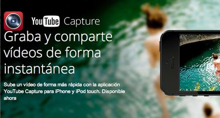 YouTube Capture: Graba y edita video en iOS