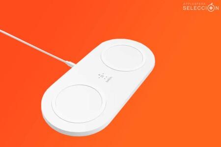Carga tu iPhone y AirPods con la base doble Belkin Boost Charge 10W: mínimo histórico en Amazon de 24,99 euros, ¡mitad de precio!