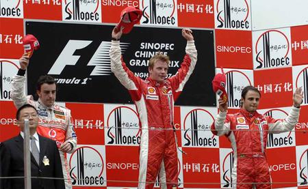 Gran Premio de China 2007: ¿entrada a boxes traicionera o error de novato?