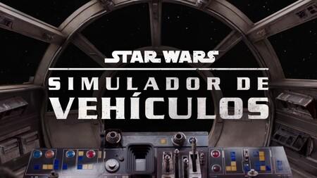 Simulador de vehículos de Star Wars en Disney+ México