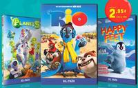 """Planet 51"" y ""Happy Feet"", cine animado con El País"