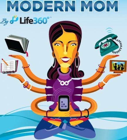 Mamá moderna: no sin mi smartphone