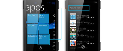 'Colecciones', 'Cartera', 'Mi familia' y otras novedades en Windows Phone Store