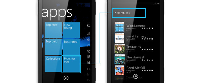 Windows Phone Store Picks for you