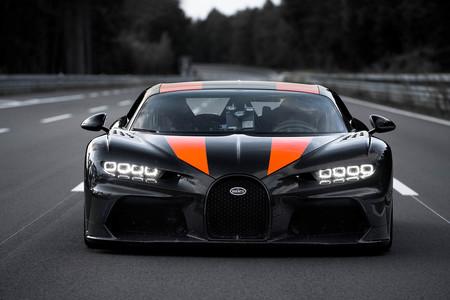 Bugatti Chiron 490 km/h
