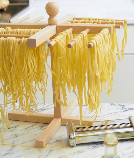 10 fideos Pasta brazo Tendedero espaguetis Fettuccine Soporte colgador de plástico de herramientas