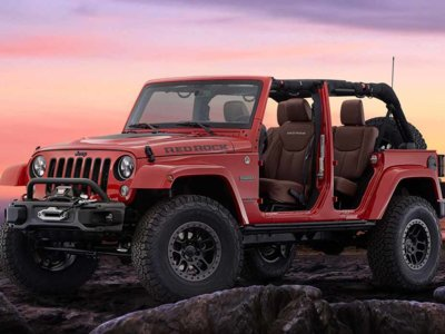 ¿Te animas a un paseo off-road a bordo del Jeep Wrangler Red Rock Concept?