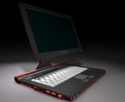 Flybook VM, con pantalla alejable