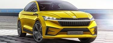 Skoda Vision iV Concept: una nueva era para los SUV eléctricos